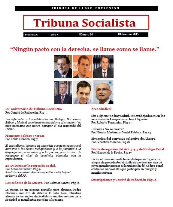 Tribuna socialista 60 diciembre 2015